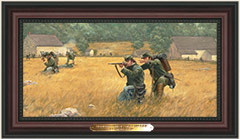 Sharpshooters at The Slyder Farm - Mini Giclee