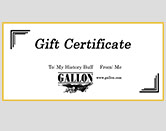 Gallon.com Gift Certificate