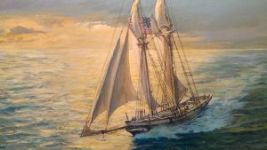 "Baltimore Clipper (24"" x 30"")"