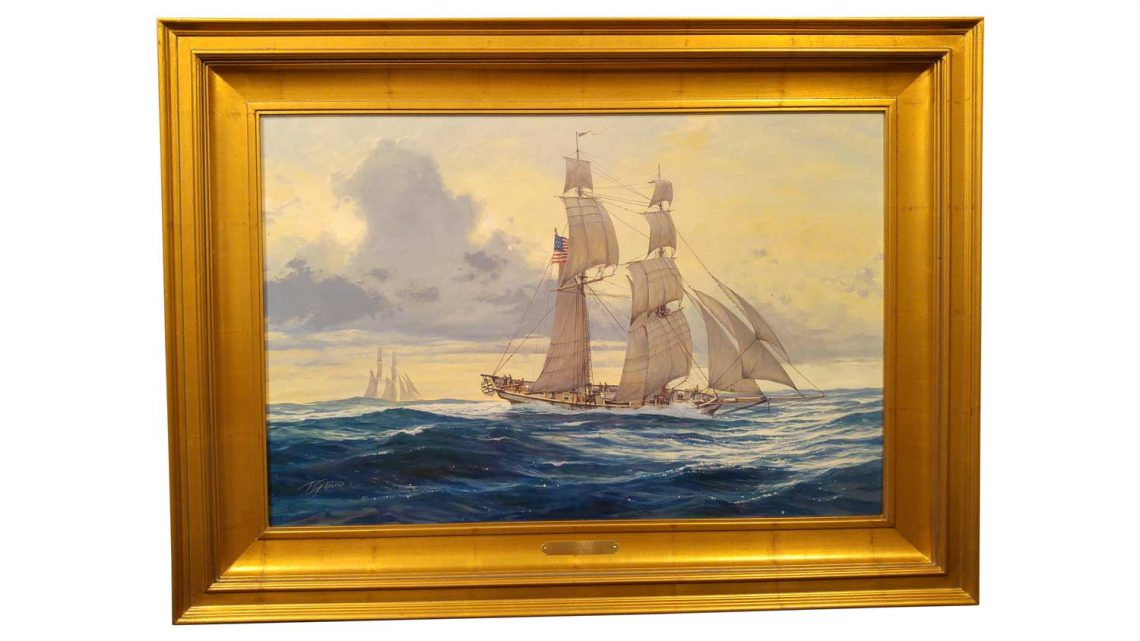 Baltimore Clipper - Framed 1