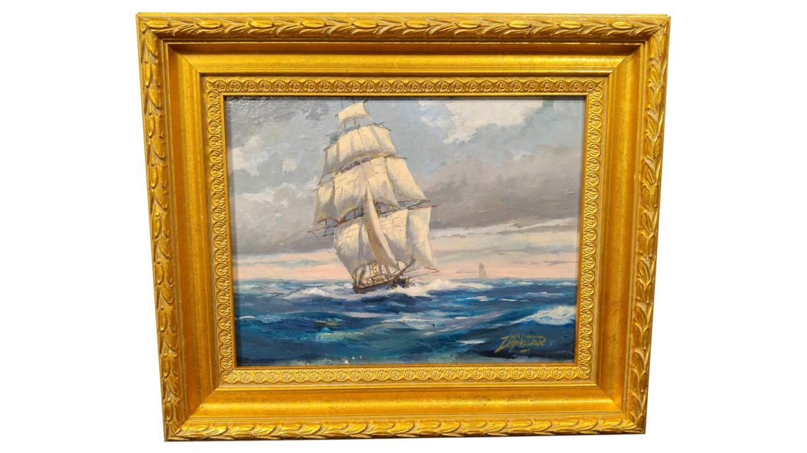 Nautical Study #5 - Framed 1