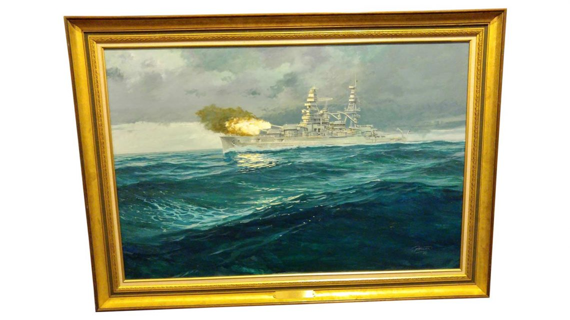 USS Arizona - Framed 1