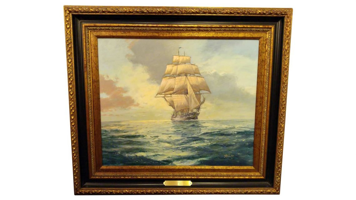 USS Constitution - Framed 1