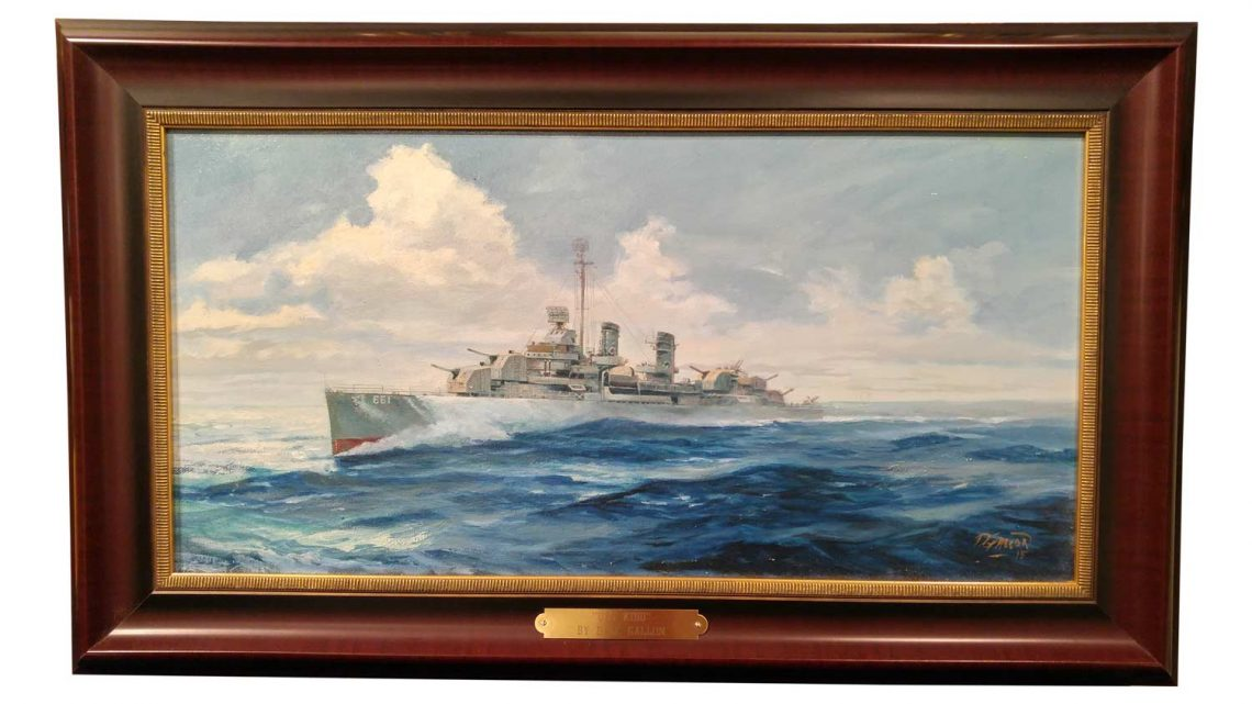 USS Kidd - Framed 1