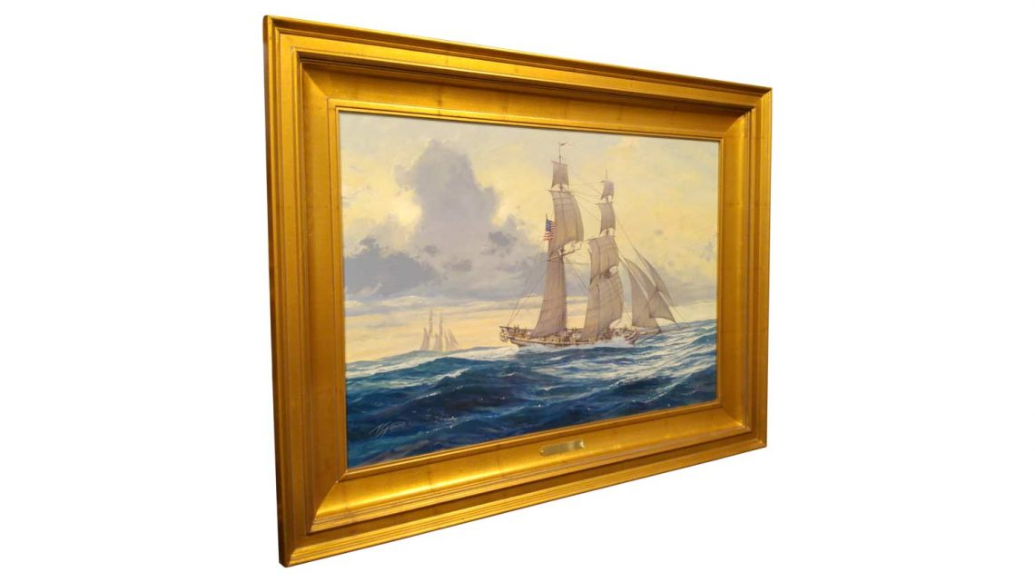 Baltimore Clipper - Framed 2