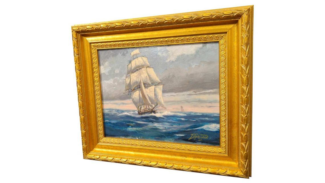 Nautical Study #5 - Framed 3