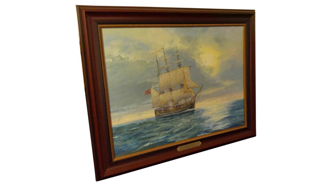 HMS Bounty - Framed 2