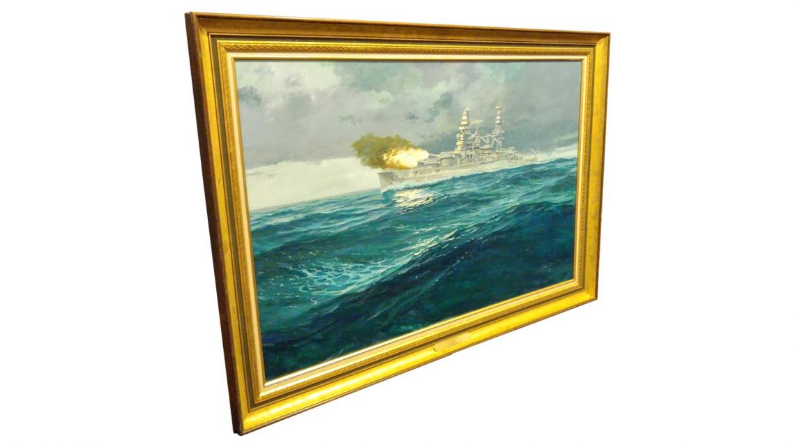 USS Arizona - Framed 2