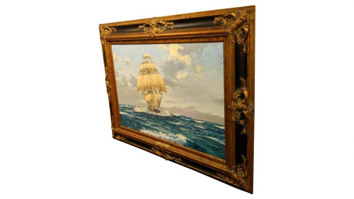 Rising Glass - Framed 2