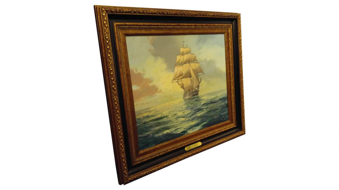 USS Constitution - Framed 2