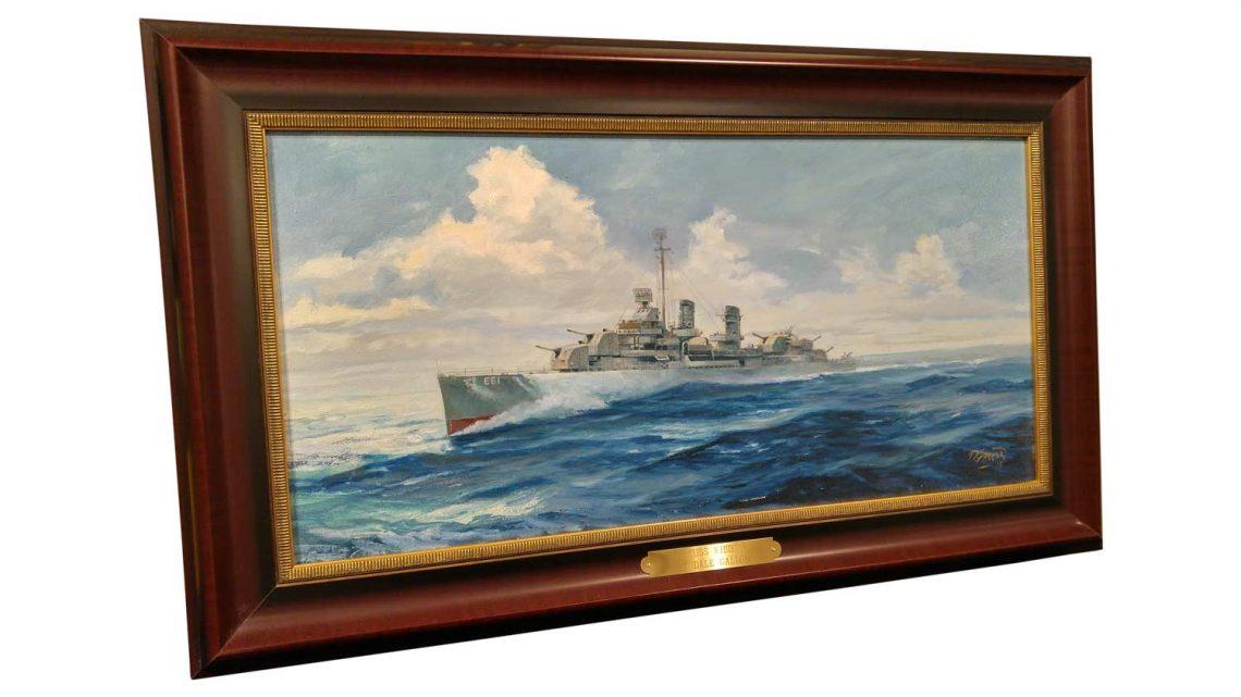 USS Kidd - Framed 2