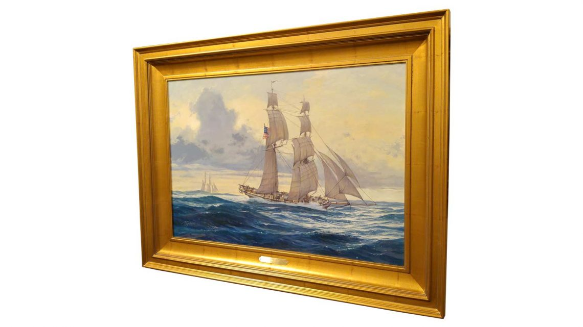 Baltimore Clipper - Framed 3