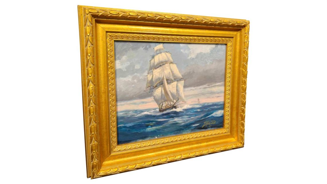 Nautical Study #5 - Framed 2