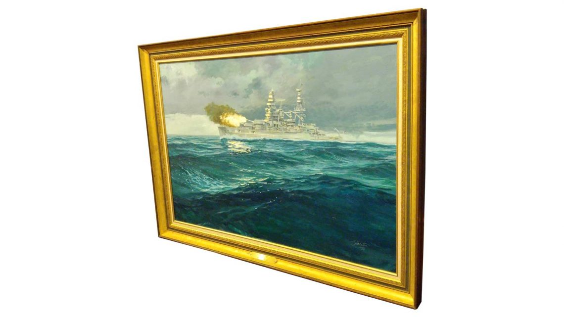 USS Arizona - Framed 3