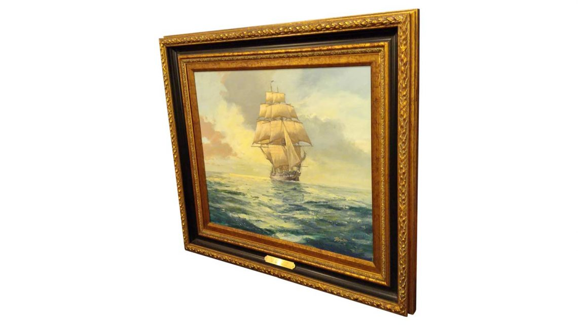 USS Constitution - Framed 3