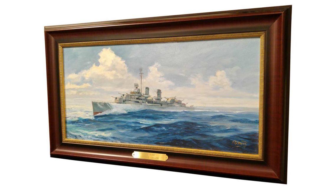 USS Kidd - Framed 3