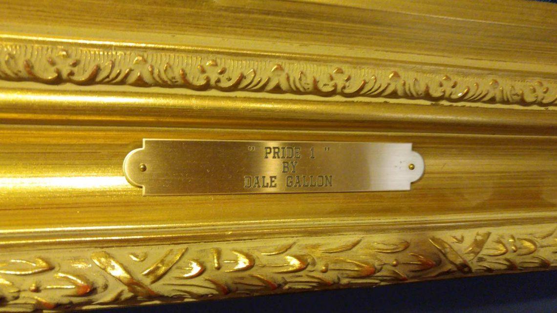 Pride 1 - Name Plate