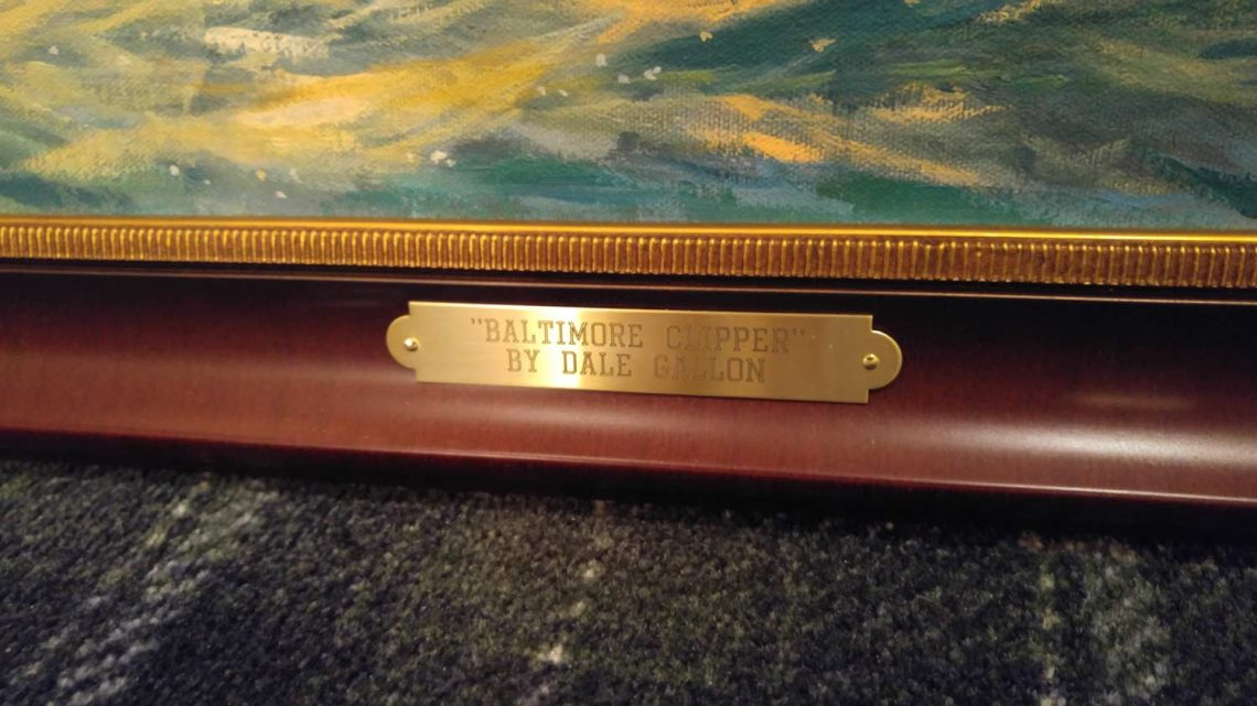 "Baltimore Clipper (24"" x 30"") - Name Plate"