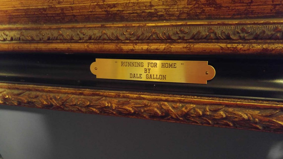 Running for Home - Name Plate