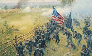 8th Ohio at Gettysburg