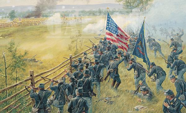 8th Ohio at Gettysburg