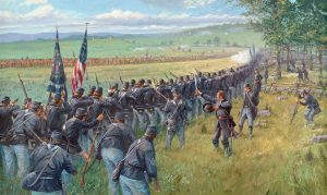 Fighting on the Ridges - Limited Edition Print