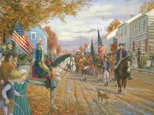 Washington at Carlisle - Limited Edition Print