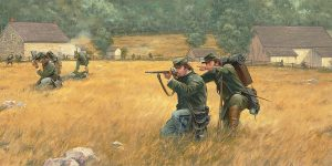 Sharpshooters at The Slyder Farm - Limited Edition Print
