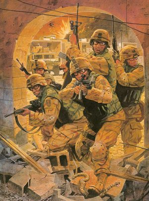 Operation Iraqi Freedom - Limited Edition Print