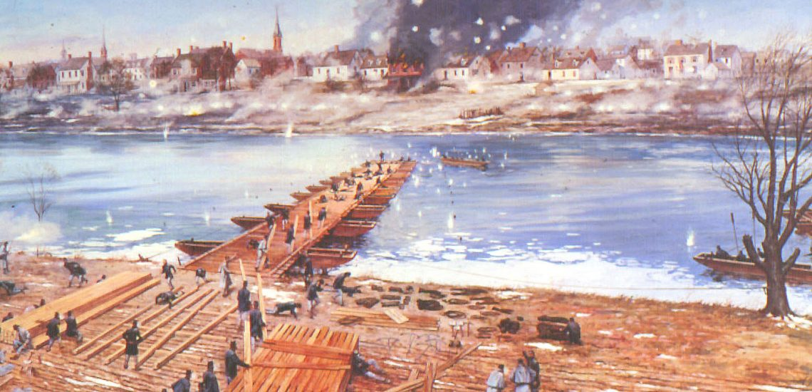 Essayons: Engineers at Fredericksburg - Limited Edition Print