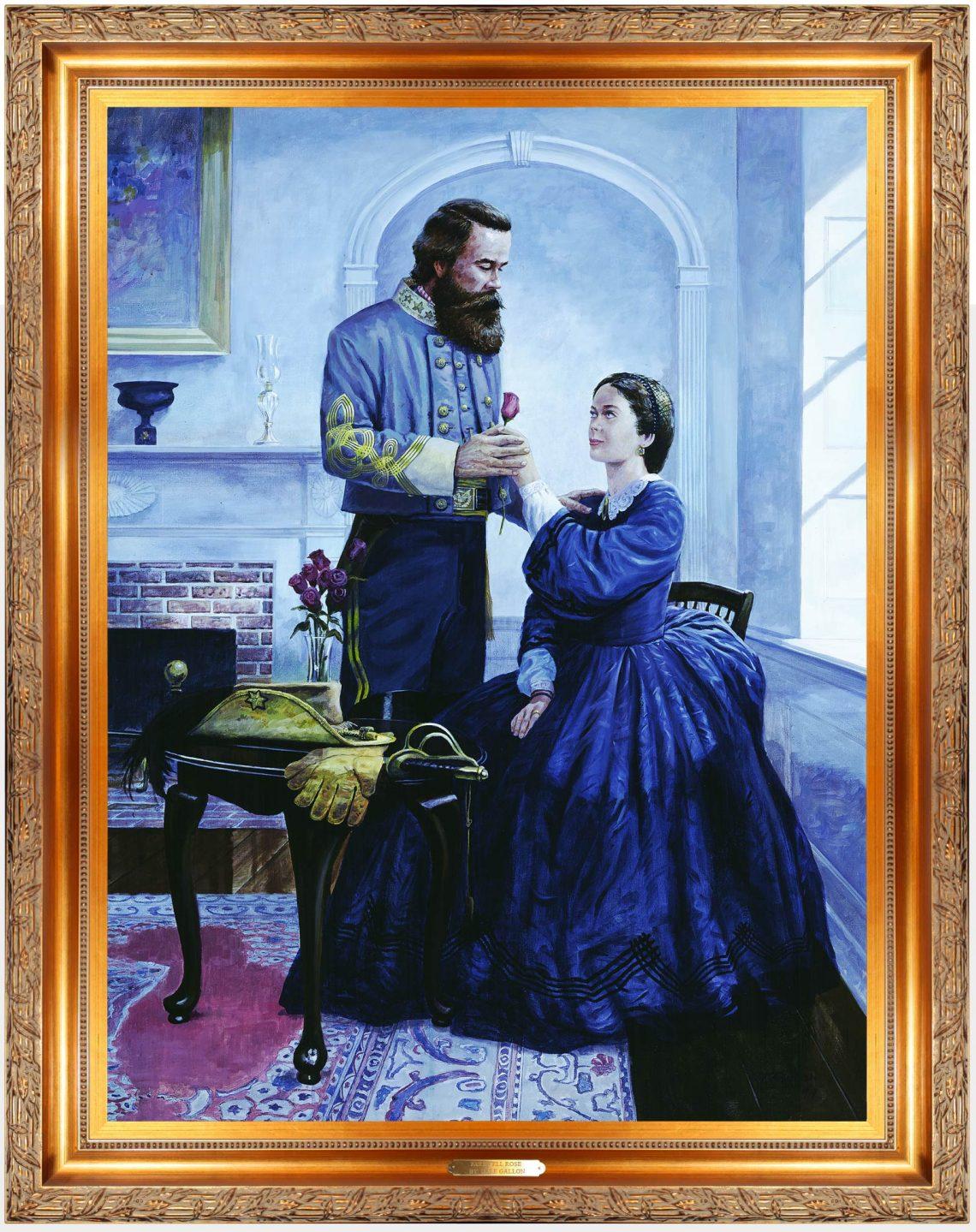 Farewell Rose Original Painting