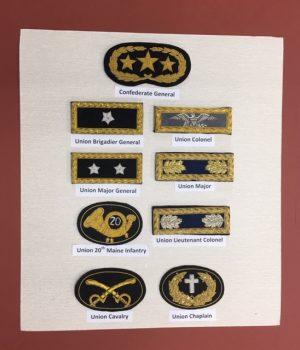Replica Civil War Uniform Patches