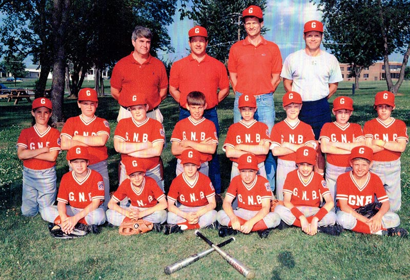 Dale was a coach for Little League for many years.