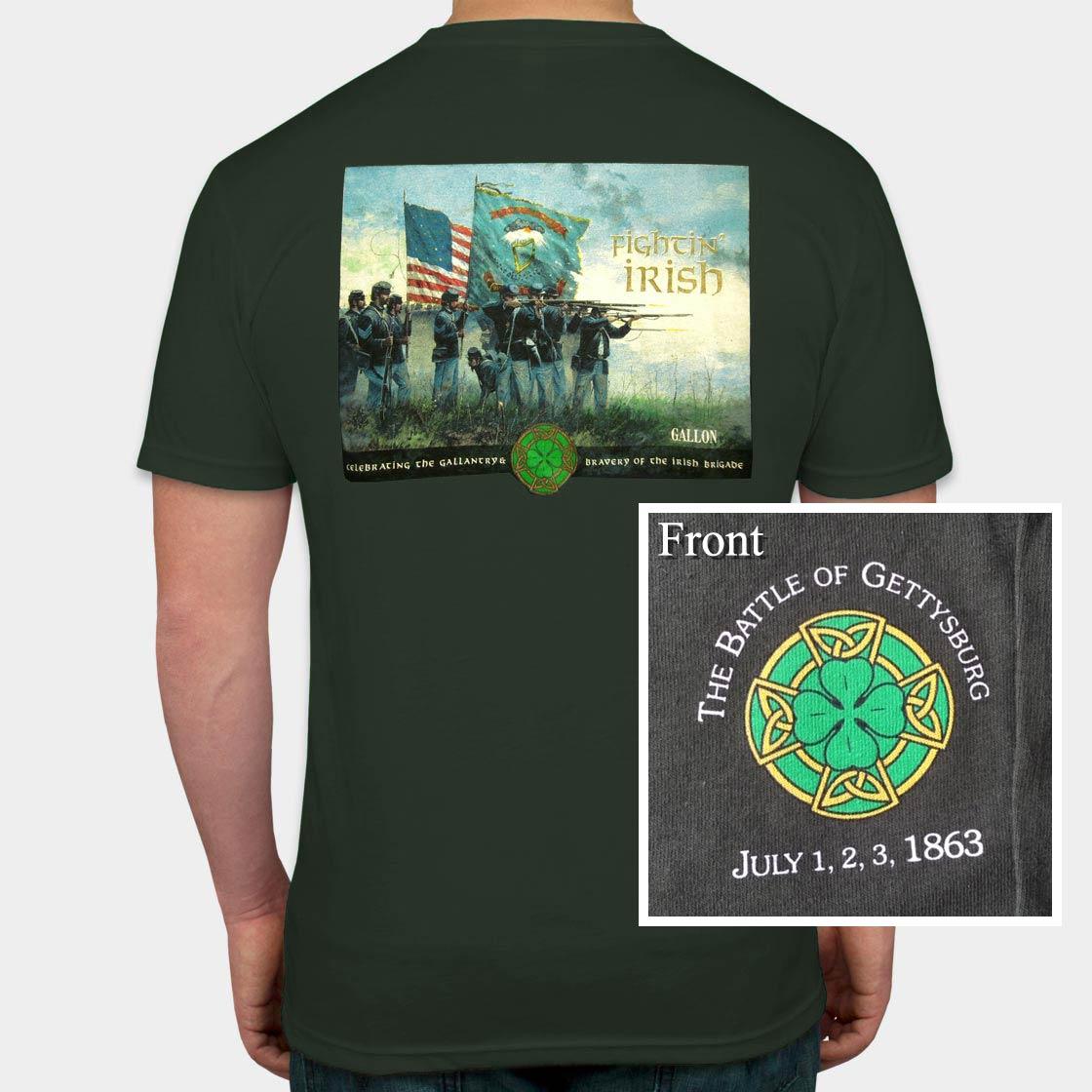 Fight'n Irish T-Shirt by Dale Gallon