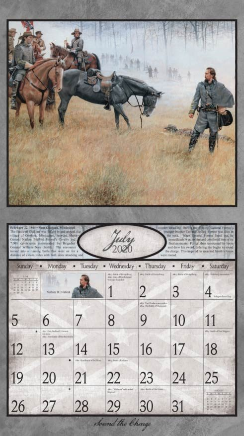 2020 Wall Calendar featuring the art of Dale Gallon