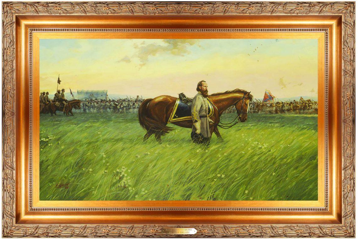 Road to Gettysburg - Original Oil Painting